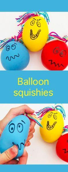 Balloon Squish-monsters