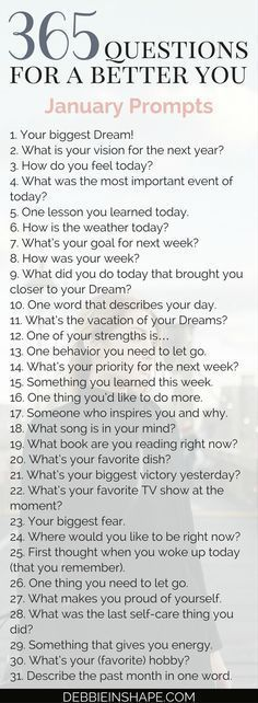 365 questions for Group accountability, support and fun Becoming a better you is the goal of every high-achiever. Come and join me for 365 questions for a better you, the January edition. 365 Questions, This Or That Questions, Random Questions, Fun Questions To Ask, About Me Questions, Youtube Questions, Facebook Questions, Coaching Questions, Instagram Questions