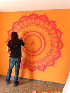 Mandala Wall Painting on Behance