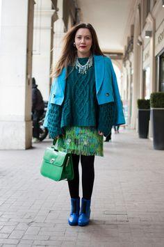 Fashion week. Paris.