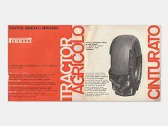 Display   Pirelli Tractor Cinturato Catalog Studio Boggeri Aldo Calabresi   Collection