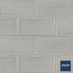 Highland Park 3x6 Subway Tile shown in the Morning Fog color | Available at Avalon Flooring | Starting at $9.99/square foot | #tilewall #walltile #subwaytile #tiledesign #classicsubwaytile