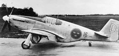 The first Mustang in the Swedish Air Force, P-51B # 26001, one of the interned aircraft. It carries the markings as White D (David) of Wing F16.