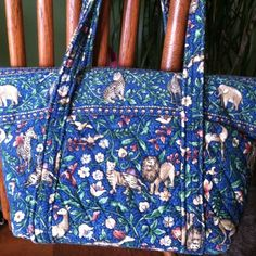 4ba93cd62fd5 This is one of my favorite Vera Bradley patterns of all time ~Animal  Kingdom Vera