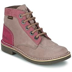 Boots Kickers KICK COL Gris / Rose 98.99 €