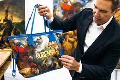 Jeff Koons voor Louis Vuitton: de rugzak van Rubens