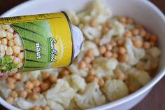 Salata calda cu conopida si naut - CAIETUL CU RETETE Grains, Food, Salads, Essen, Meals, Seeds, Yemek, Eten, Korn
