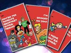 Super-Awesome Valentine's Day Cards! We put a super hero twist on the Valentine's giving tradition!