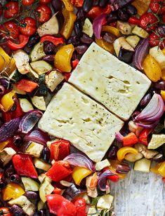 Pesco Vegetarian, Low Carb Recipes, Cooking Recipes, Good Food, Yummy Food, Bon Appetit, Food Inspiration, Feta, Food To Make