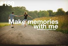 Too bad we can only replay memories in our mind. Make lots of wonderful memories in life.