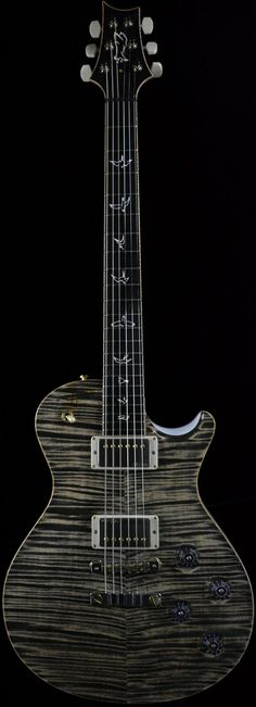 Wild West Guitars : PRS Private Stock #3777 SC58 Charcoal with White Wash Back