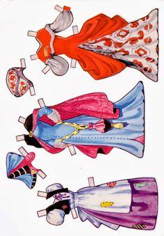 Bonecas de Papel: Cinderela