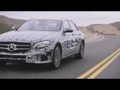 2017 Mervedes Benz E Klasse Autonomes Fahren So funktioniert das selbstfahrende Auto - YouTube