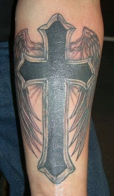 Appealing Cross Tattoo