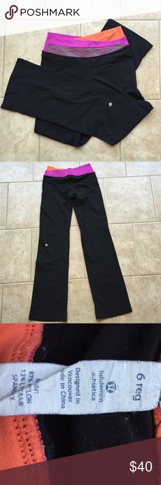 Lululemon Astro pants! Astro workout pants! Cute colors and great condition, except for minor piling on crotch/inside leg area (last photo), priced accordingly. Just selling because they are too big for me! 🚫modeling lululemon athletica Pants Track Pants & Joggers