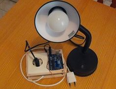 Picture of Arduino Bluetooth Controlled Desk Lamp - With Relay Safety Box