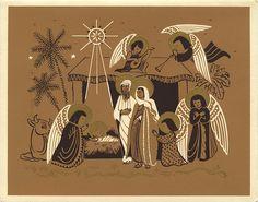 Vintage Christmas Card