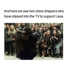 CLEXA AF Lexa The 100, The 100 Clexa, Brother Presents, Duffer Brothers, Clarke And Lexa, The 100 Show, Alycia Debnam Carey, Carmilla, Bellarke