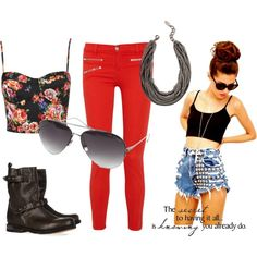 Kickass :), created by theedeandrab on Polyvore