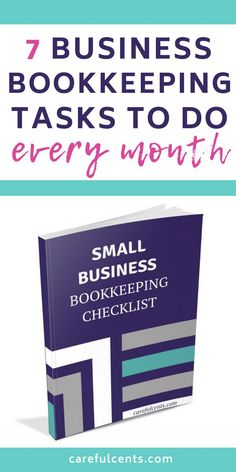 business finance Free Small Business Bookkeeping Checklist for Beginners -- find out the bookkeeping tasks and tips to do every month to stay organized! Small Business Bookkeeping, Bookkeeping And Accounting, Small Business Accounting, Accounting And Finance, Business Analyst, Business Marketing, Bookkeeping Training, Media Marketing, Business Education