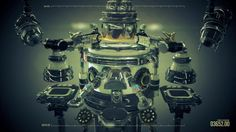 Simple machines work together to make music. (fullscreen, please)  Download the entire Cinema 4D project file: http://www.beeple-crap.com/resources.php  more…