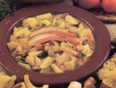 Bramborovo-houbový guláš Meat, Chicken, Food, Essen, Meals, Yemek, Eten, Cubs