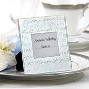 Good Wishes Glass Frame Place Card Holder – USD $ 1.49