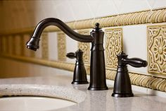 Hot to clean and maintain bronze kitchen and bathroom sink faucets