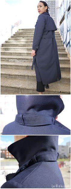 Le fil a la gratte /// Isla Trench Coat