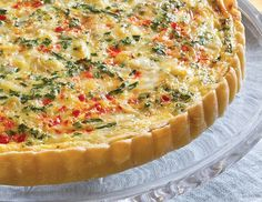 Chock full of crabmeat, bell pepper, parsley, and chives, this Crab and Gruyère Quiche is perfect for a light supper or an afternoon tea.