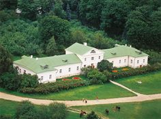 Leo Tolstoy's house in his Yasnaya Polyana estate nowadays. Tula Province, Russia. #Leo_Tolstoy