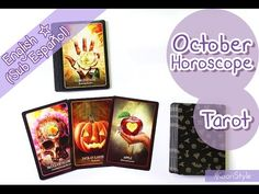 【October Tarot Reading】 ALL Horoscope Signs ♥! - Hi Friends~ today I'd love to share with you my first tarot reading for ALL the horoscope signs ♥! This reading is for the month of October 2016 and I'll be using the Halloween Oracle deck. (Timestamps in the video description).