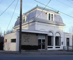 Bank Building in Keeseville, NY -- now TD Bank. Second Empire c.1870 :: Adirondack Architectural Heritage Collection
