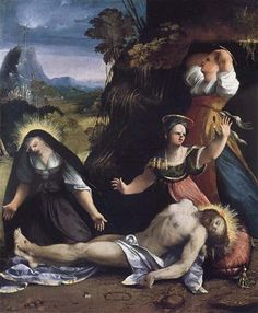Lamentation over the Body of Christ - Dosso Dossi
