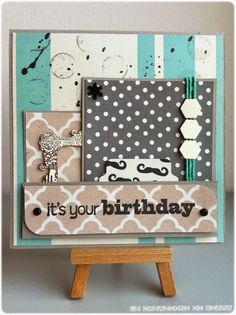 Le Creazioni di Kiara: CARD SKA #104 It's your birthday
