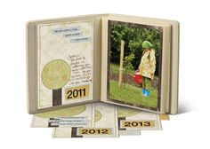 "Grow With Me Album as seen in ""Secret Ingredients"" by Nancy O'Dell #CreativeMemories    http://www.creativememories.com"