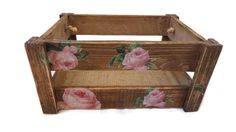 Wedding Card Box, Rustic Wedding, Wooden Crate - pinned by pin4etsy.com