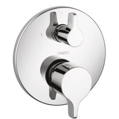 Ecostat Shower faucets: single lever, 2 outlets, chrome, 04448000