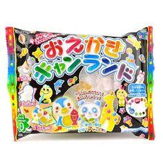 Popin' Cookin' Oekaki Kyan Land Candy Kit