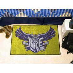 Rice Owls NCAA Starter Floor Mat (20x30)