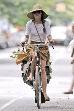 Keri Russell - Would love to live in a place where I can bike places to run errands