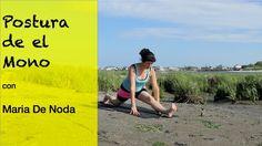Postura de el Mono - Yoga Hanumanasana