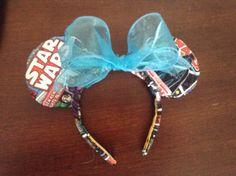 Mickey Star Wars ears by Floridariffic on Etsy