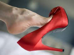 Every woman should own a Red pair of Heels....just for the fun of it !
