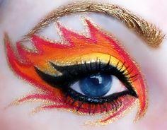 punk makeup with rhinestones - Google-søgning