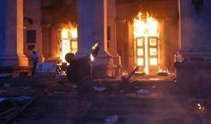 Piedra del Aguila.-: Ucrania: Fascistas incendian edificio en Odessa y ...