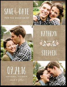Wreathed in Love - Signature White Photo Save the Date Cards - Lady Jae - Cashmere Pink - Pink : Front Save The Date Invitations, Save The Date Postcards, Save The Date Magnets, Save The Date Cards, Bridal Shower Invitations, Wedding Invitations With Pictures, Party Invitations, Wedding Prep, Wedding Save The Dates