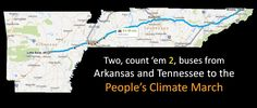 #Arkansas and #Tennessee join our bus to #PeoplesClimate March at http://1in7b.net/PCM