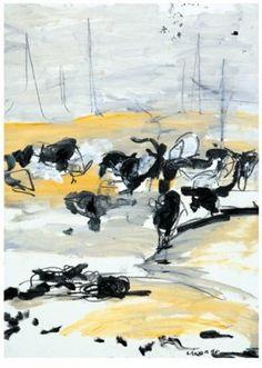 Lisa Sanders.  Going Home.        Gallery Fine Art Center - Original Fine Art - Louisiana