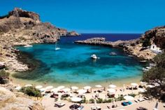 We spend a fabulous day in Lindos - found this cove with a relatively uncrowded beach. Gorgeous water and great snorkeling. Would love to visit again.